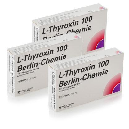 Levothyroxine Sodium T4 (L Thyroxin 100)