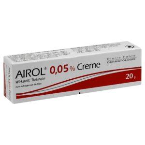 Airol [Retin-A] Cream 0.05% - 20 gramos