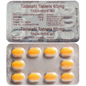 Blister Tadarise-60 10 comprimés
