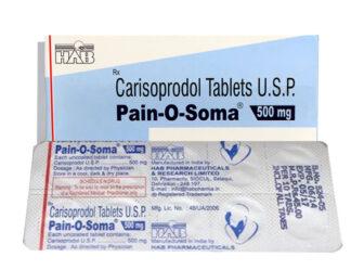 Carisoprodol (Pain O Soma) 500 mg